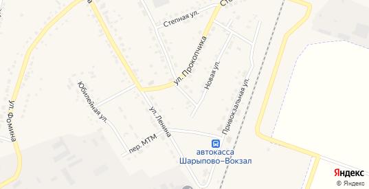 Новый переулок в Шарыпово с номерами домов на карте. Спутник и схема онлайн