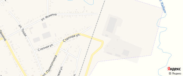Железнодорожный проезд на карте Шарыпово с номерами домов