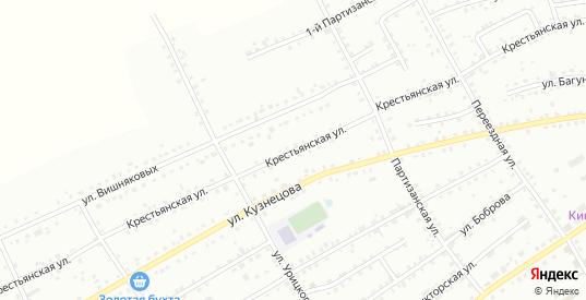 Крестьянская улица в Боготоле с номерами домов на карте. Спутник и схема онлайн