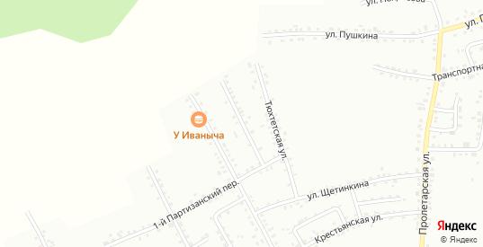 Партизанский 2-й переулок в Боготоле с номерами домов на карте. Спутник и схема онлайн