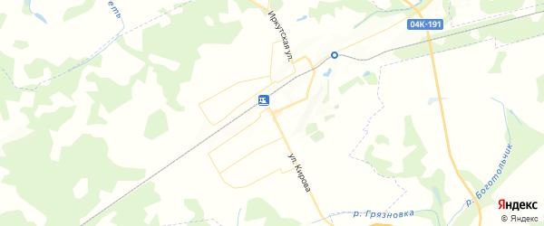 Карта Боготола с районами, улицами и номерами домов: Боготол на карте России