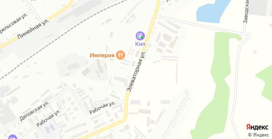 Элеваторная улица в Боготоле с номерами домов на карте. Спутник и схема онлайн