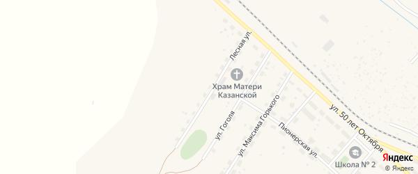 Улица 1-й ряд на карте территории ГСК Лесной 12-14 с номерами домов
