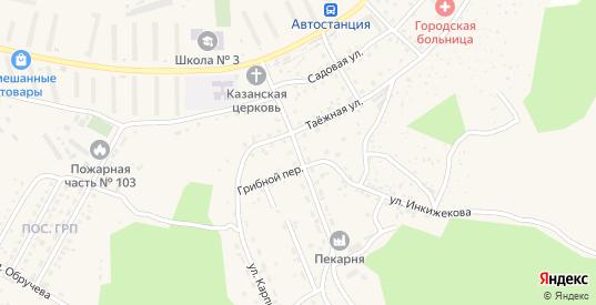 Сайгачинская улица в Сорске с номерами домов на карте. Спутник и схема онлайн