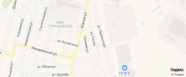 Улица Гоголя на карте Назарово с номерами домов