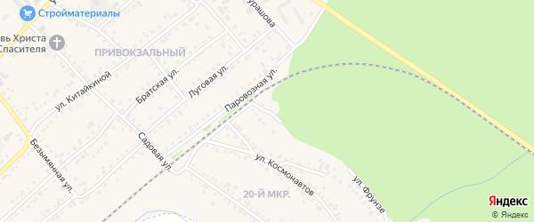 Улица Дзержинского на карте Назарово с номерами домов