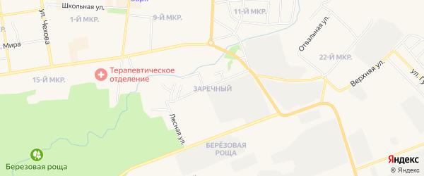 Гк Заречный ГСК на карте Назарово с номерами домов