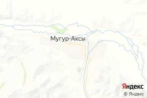 Карта с. Мугур-Аксы Республика Тыва