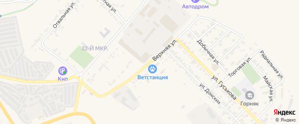 Верхняя улица на карте Назарово с номерами домов