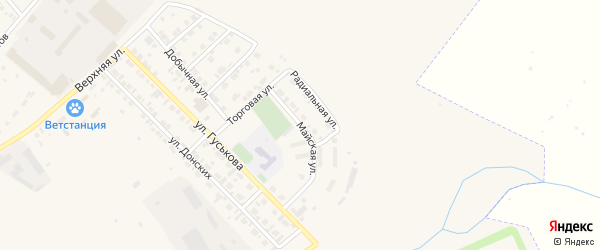 Майская улица на карте Назарово с номерами домов