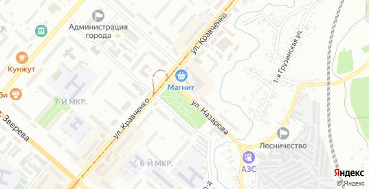Улица Назарова в Ачинске с номерами домов на карте. Спутник и схема онлайн