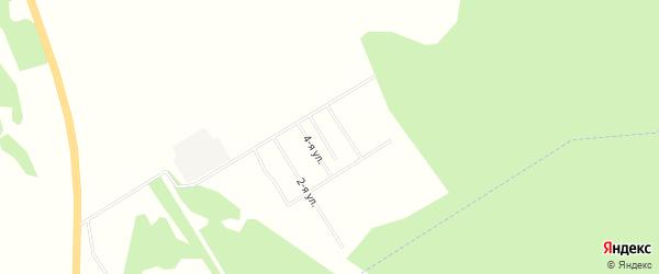 Территория СНТ Еловый Ручей на карте деревни Красновки Красноярского края с номерами домов