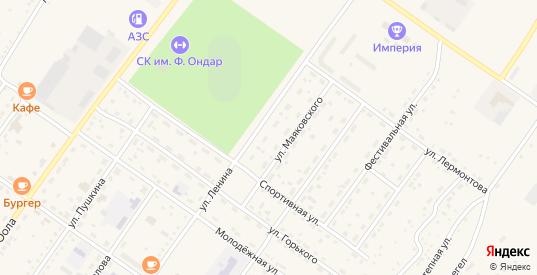Местечко Берт-Кожагар в Ак-Довураке с номерами домов на карте. Спутник и схема онлайн