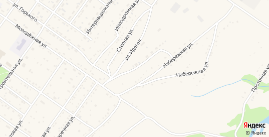 Олимпийская улица в Ак-Довураке с номерами домов на карте. Спутник и схема онлайн