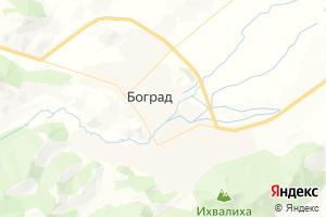Карта с. Боград