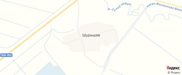 Карта аала Шурышева в Хакасии с улицами и номерами домов