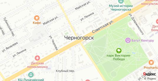 Улица Н.Самрина в Черногорске с номерами домов на карте. Спутник и схема онлайн
