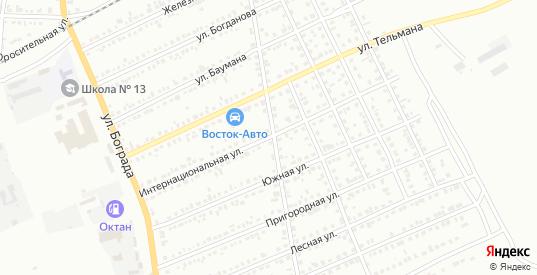 Интернациональная улица в Черногорске с номерами домов на карте. Спутник и схема онлайн