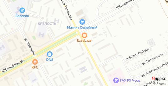 Улица Генерала Тихонова в Черногорске с номерами домов на карте. Спутник и схема онлайн