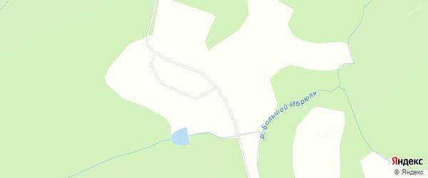 Карта деревни Антоновки в Красноярском крае с улицами и номерами домов