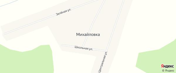 Новая улица на карте села Михайловки Красноярского края с номерами домов