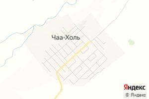 Карта с. Чаа-Холь Республика Тыва