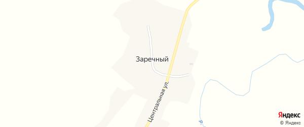 Речной переулок на карте Заречного поселка Красноярского края с номерами домов