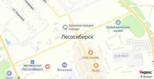 Пограничная улица в Лесосибирске с номерами домов на карте. Спутник и схема онлайн