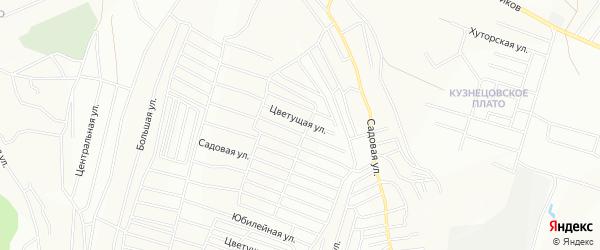 СНТ Мечта на карте Красноярска с номерами домов