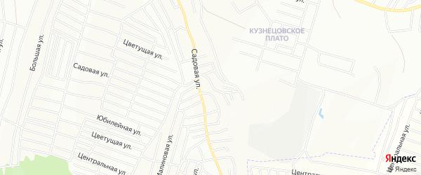 Карта территории ПГК Строителя города Красноярска в Красноярском крае с улицами и номерами домов