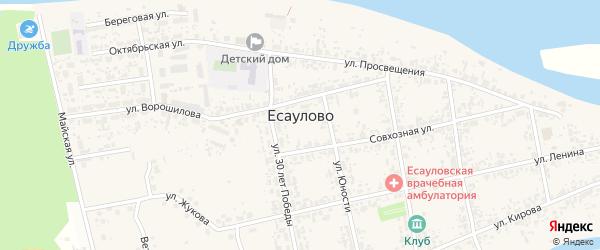 Пихтовая улица на карте микрорайона Лиственной гривы Красноярского края с номерами домов