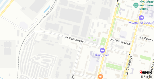 Улица Решетнева в Железногорске с номерами домов на карте. Спутник и схема онлайн