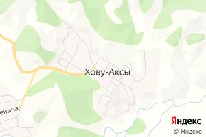 Карта с. Хову-Аксы