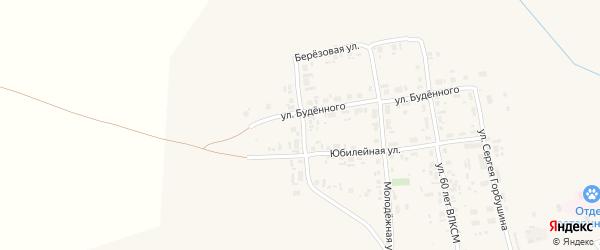 Улица Железнодорожников на карте Уяра с номерами домов