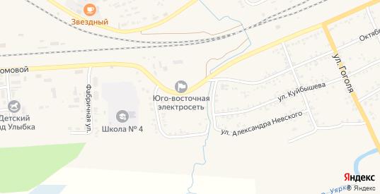 Улица 8 Марта в Уяре с номерами домов на карте. Спутник и схема онлайн