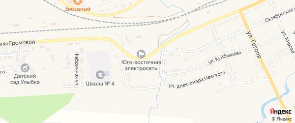 Улица 8 Марта на карте Уяра с номерами домов