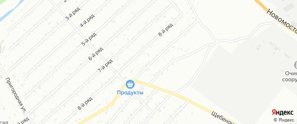 Ряд 7 на карте территории ГК N12 с номерами домов