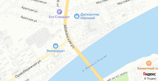 Кирпичная улица в Кызыле с номерами домов на карте. Спутник и схема онлайн