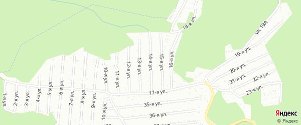5 квартал 14-я улица на карте садового некоммерческого товарищества Садоводства N8 с номерами домов