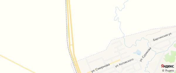 Садовое товарищество Восход на карте Заозерного с номерами домов