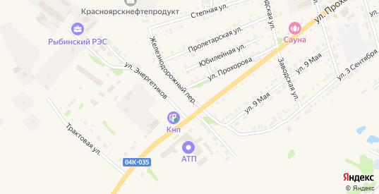 Железнодорожный переулок в Заозерном с номерами домов на карте. Спутник и схема онлайн