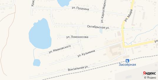 Улица Декабристов в Заозерном с номерами домов на карте. Спутник и схема онлайн