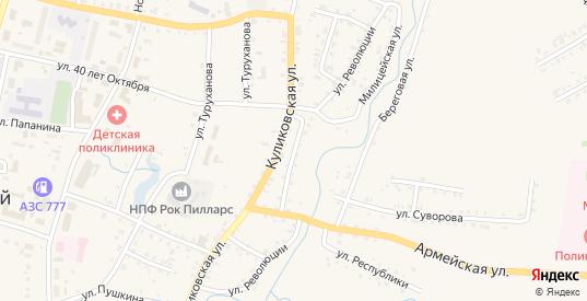 Улица Революции в Заозерном с номерами домов на карте. Спутник и схема онлайн