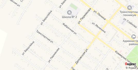 Улица Пермякова в Иланском с номерами домов на карте. Спутник и схема онлайн