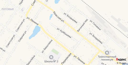 Улица Куйбышева в Иланском с номерами домов на карте. Спутник и схема онлайн