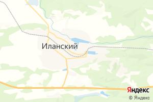 Карта г. Иланский
