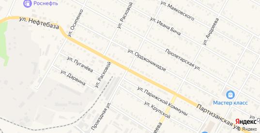 Проездная улица в Тайшете с номерами домов на карте. Спутник и схема онлайн