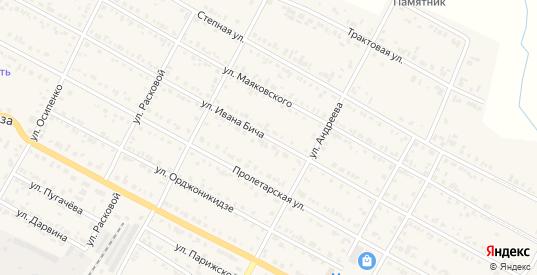 Улица Ивана Бича в Тайшете с номерами домов на карте. Спутник и схема онлайн
