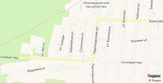 Солнечная улица в Алзамае с номерами домов на карте. Спутник и схема онлайн