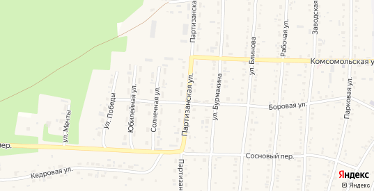 Партизанская улица в Алзамае с номерами домов на карте. Спутник и схема онлайн
